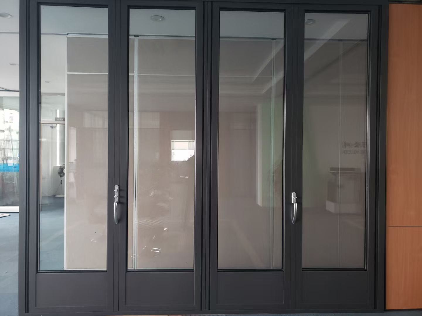 Sliding Folding Glass Wall