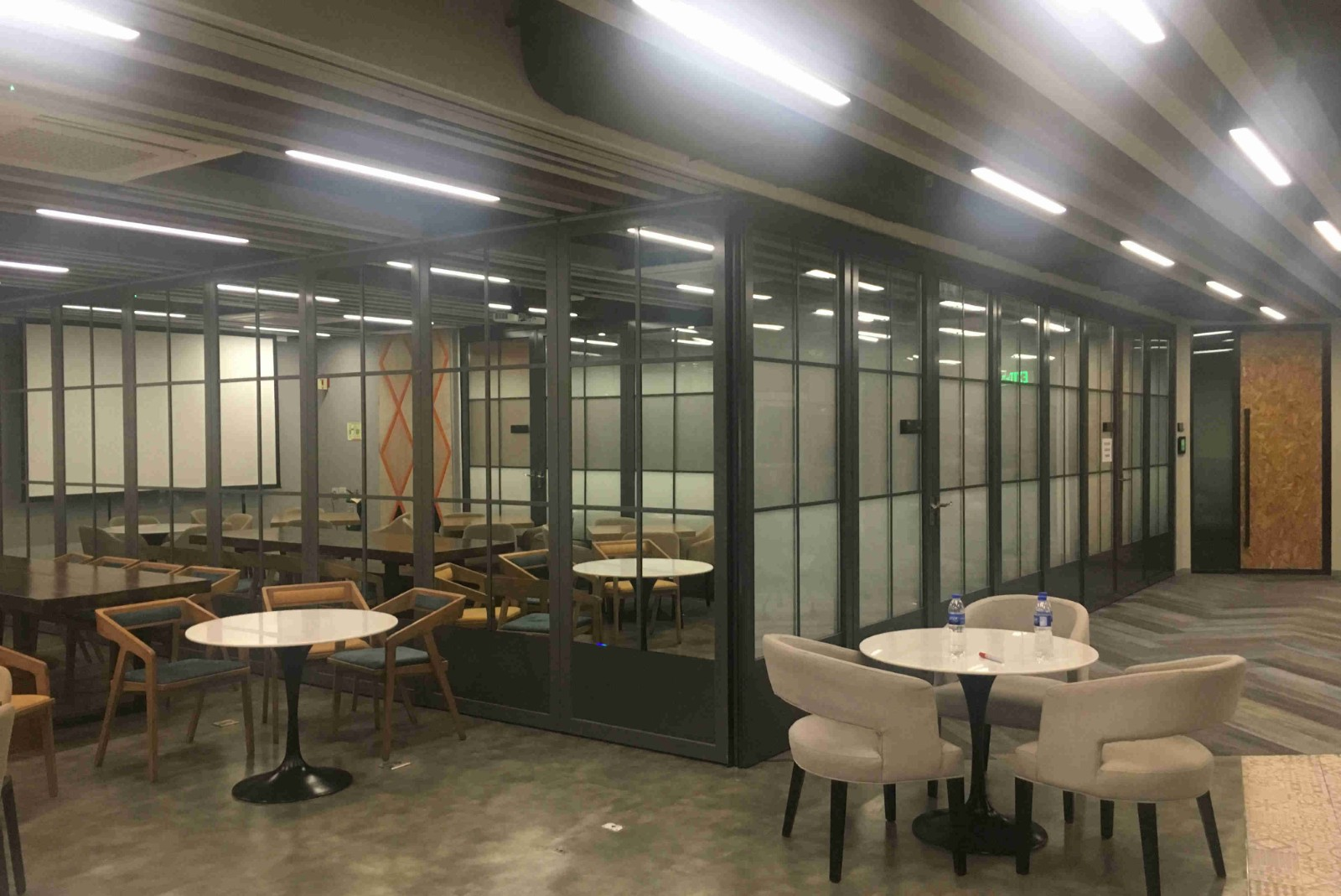 Movable Glass Wall for Pfizer office in Manila