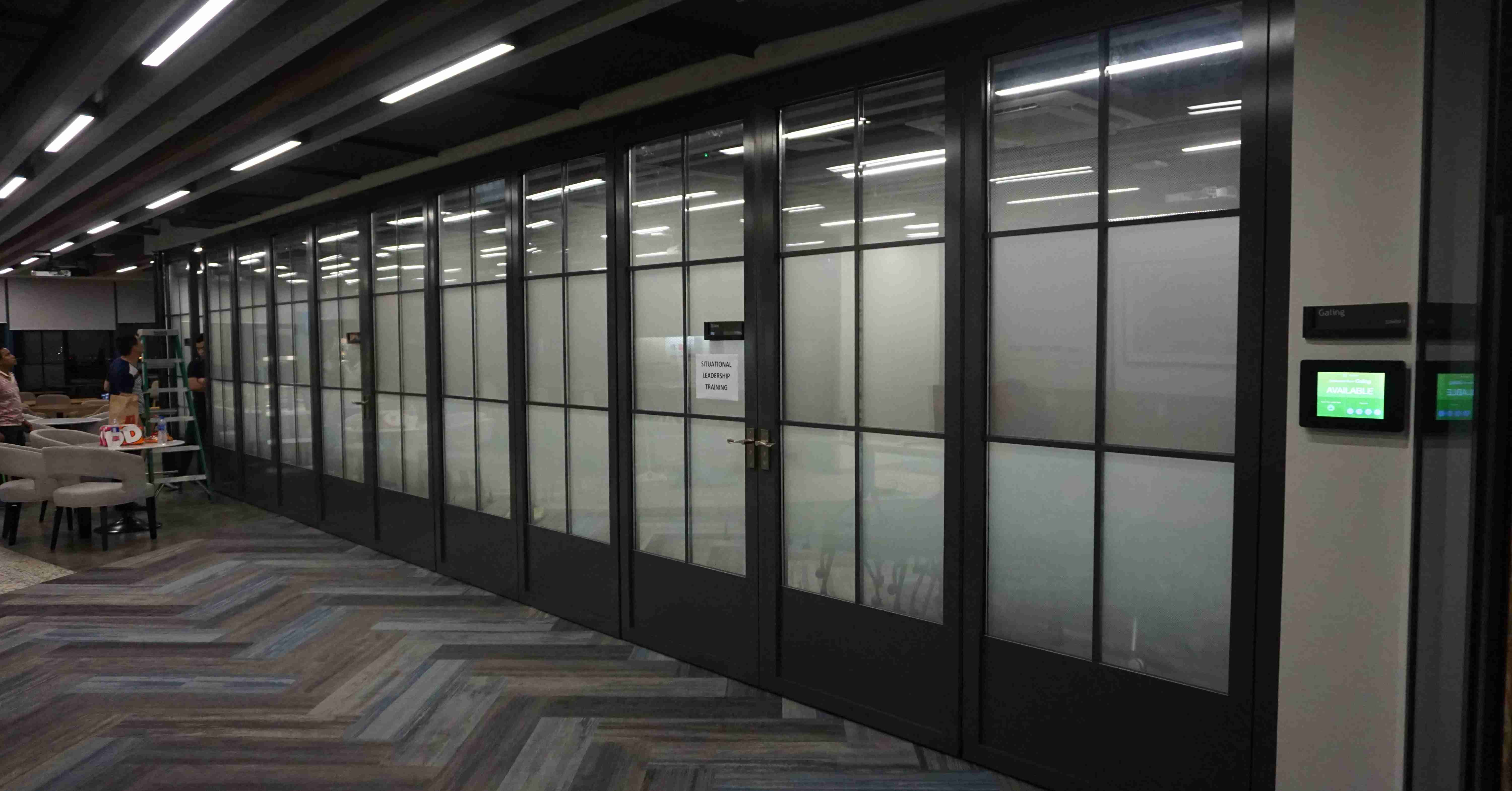 Movable Glass Wall(Frame)