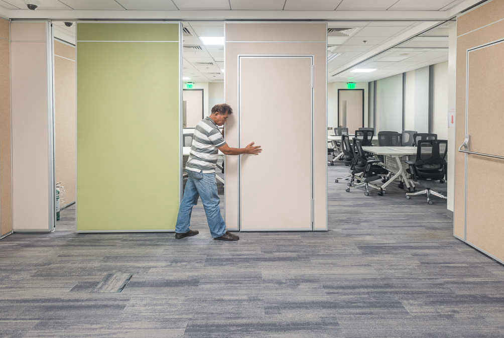 Movable Wall For Call Center in Manila,Philippines