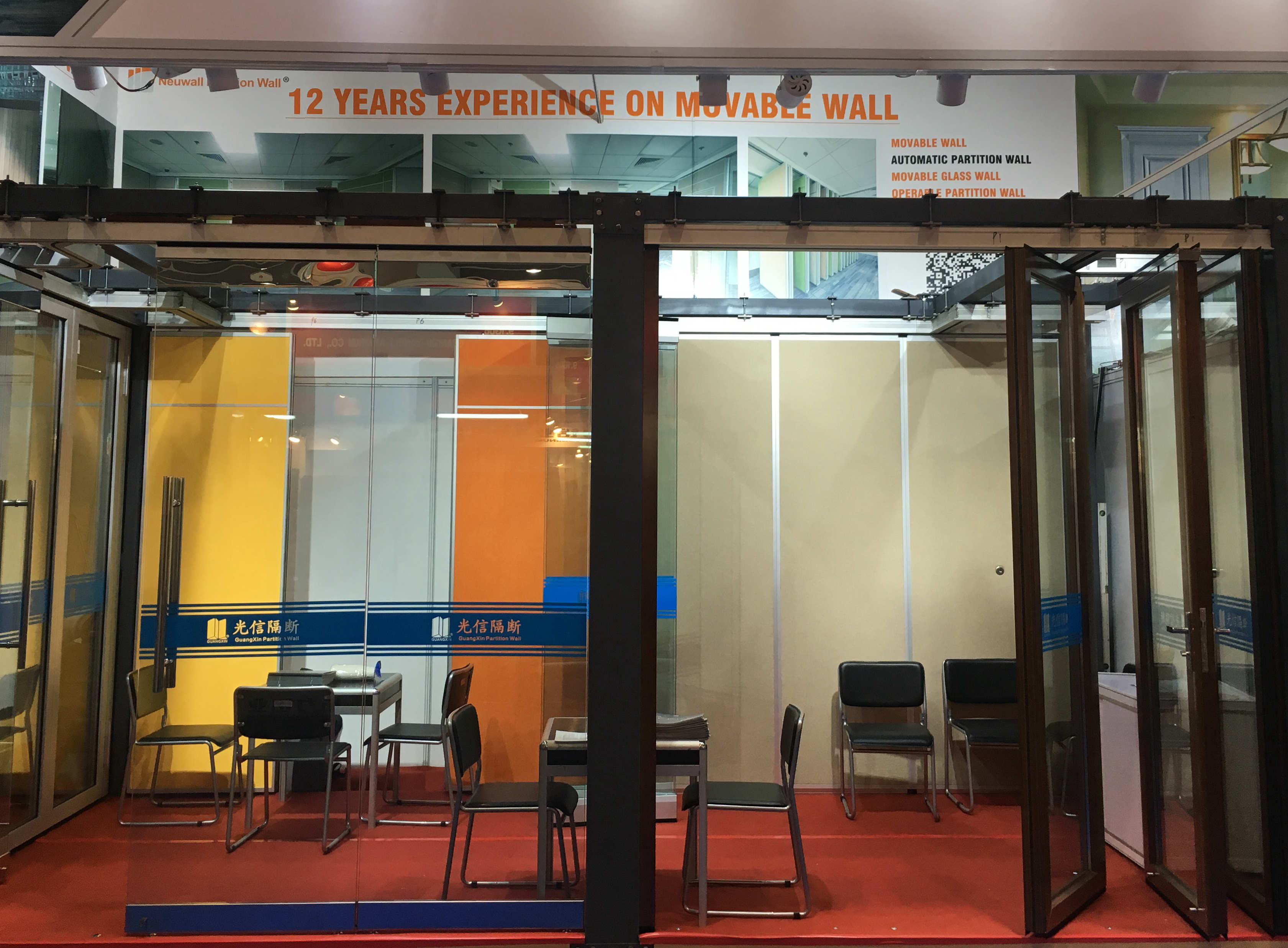 Our Movable Partition Wall  Showing In Canton Fair On 15th till 19th,Oct